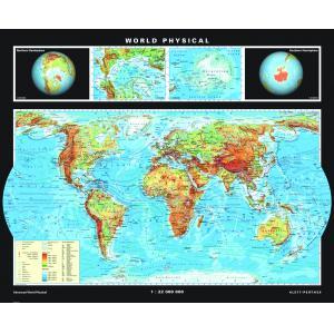 High School World Maps