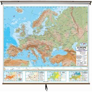 High School Continent Maps