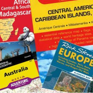 Folding Travel Maps - International